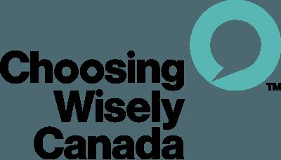 Choosing Wisely Canada logo